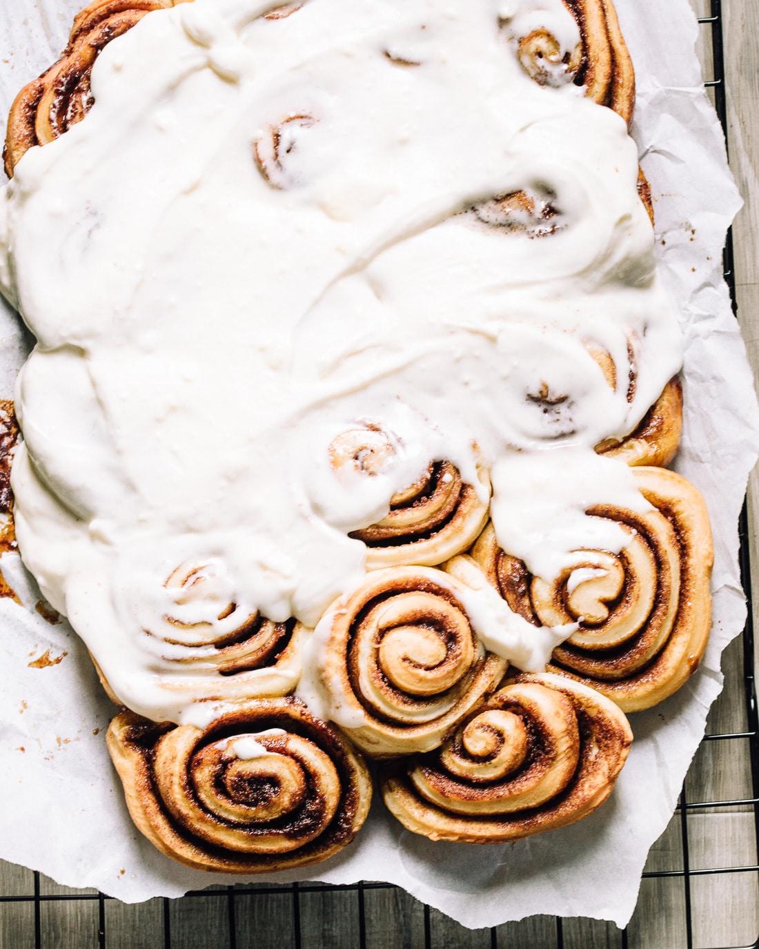Homemade cinnamon buns
