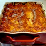 Roasted Eggplant and Portobello Mushroom Lasagna