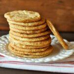Cinnamon Crinkle Cookies