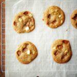Apple Caramel Cookies