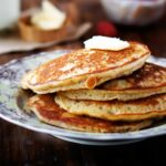 Maple Almond Pancakes {gluten free}