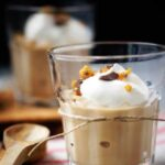 Butterscotch Pudding with Toffee Crumbles