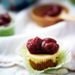 Mini Cheesecakes with Cherry Topping