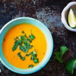 Thai Coconut-Peanut Sweet Potato Soup