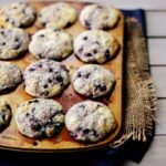 Lemon-Blueberry Sour Cream Muffins
