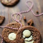 Chewy White Chocolate-Ginger Cookies