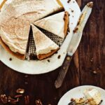 Sweet Potato Cheesecake with Oat-Pecan Crust