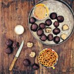 Chocolate-Pretzel Peanut Butter Balls