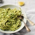 Creamy Greens & Coconut Linguine