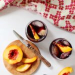 Cherry-Merlot Winesicles + Orchard Sangria
