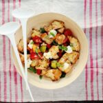 Grilled Panzanella (Tomato & Bread Salad)