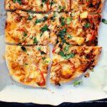 Butter Chicken Pizza