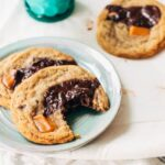 Chewy Chocolate Caramel Cookies