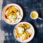 Spiced Maple-Roasted Squash & Halloom (Halloumi) Salad