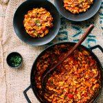 Tomato, Beef & Macaroni Soup