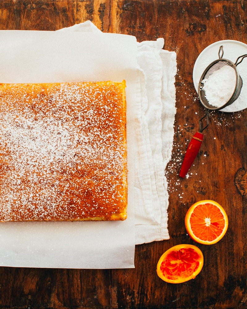 Portuguese Orange Cake
