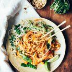 Veggie, Tofu + Shrimp Pad Thai