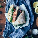 Spring Salmon Sandwiches with Pea Sprouts + Lemon-Dill Aioli