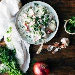 Indian Cucumber-Yogurt Salad