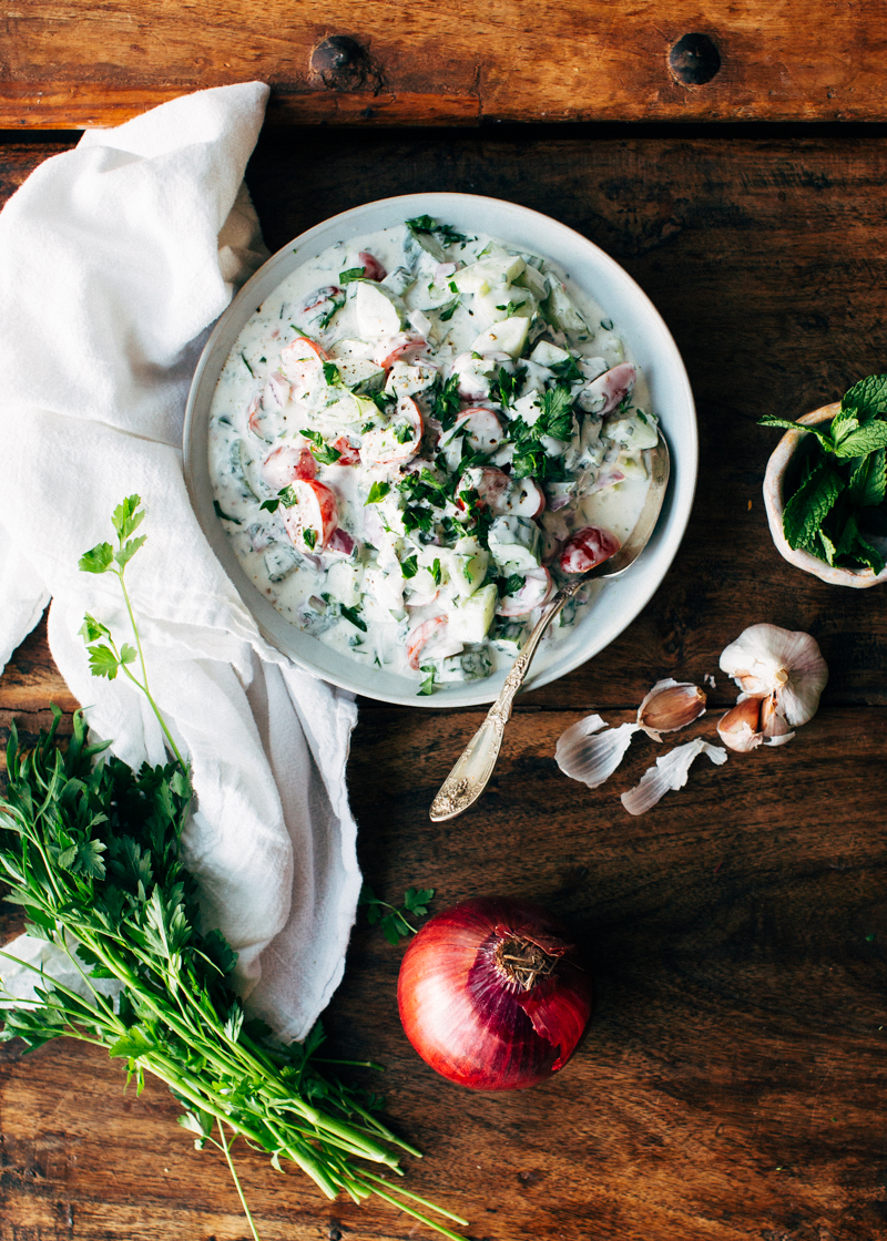 Indian cucumber yogurt salad foodess ok vacation mode hasnt really ended i got back from hawaii last week and found myself totally swamped so i worked my tail off all week forumfinder Images