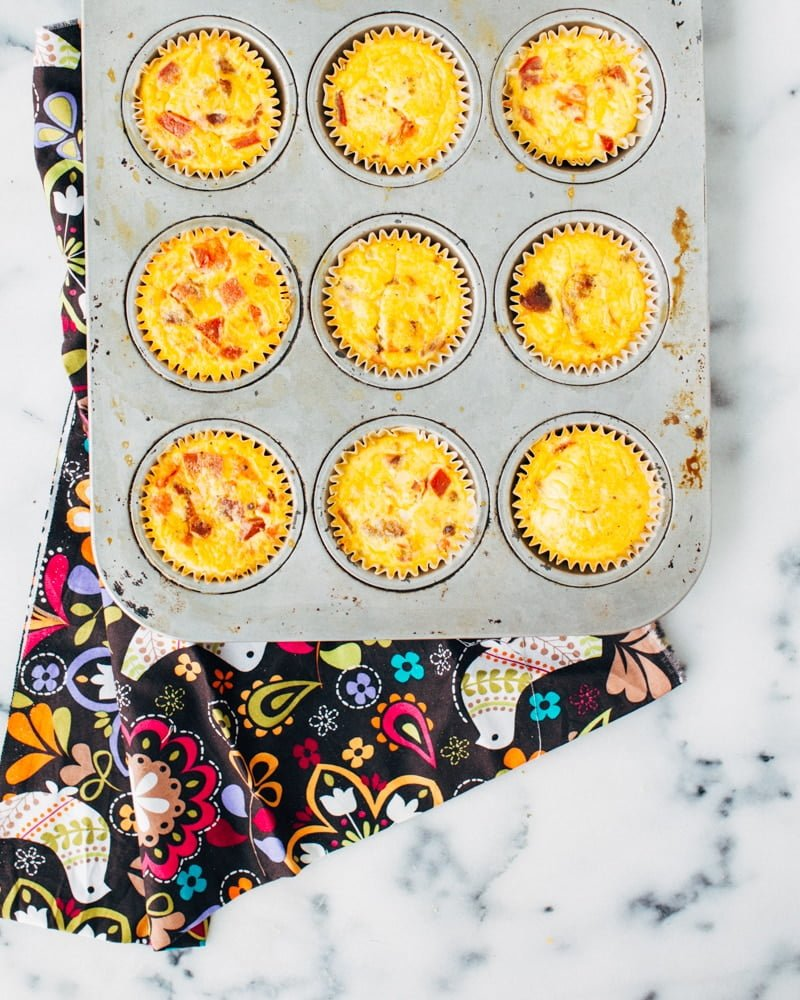 Since my kids are so young, and it's a 3-to-1 battle on school mornings, I am all for prepping anything I can the night/weekend before. Saturday's pancakes become weekday breakfasts. Sandwiches are made for lunch the night before, and these breakfast egg cups can .