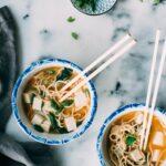Almost Instant Miso Noodle Soup