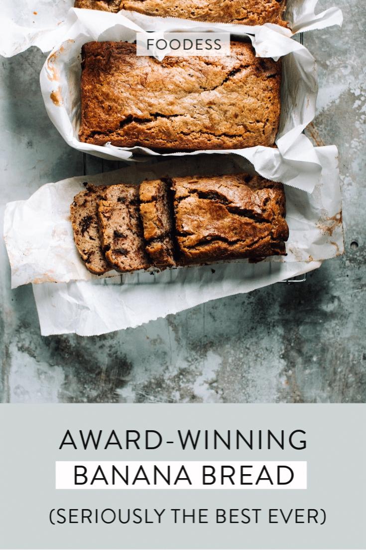 award-winning banana bread