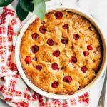 Pistachio-Raspberry Cake