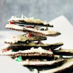 White Chocolate Candy Cane Christmas Bark