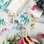 Homemade Peppermint Bark + beautiful personalized christmas gifts