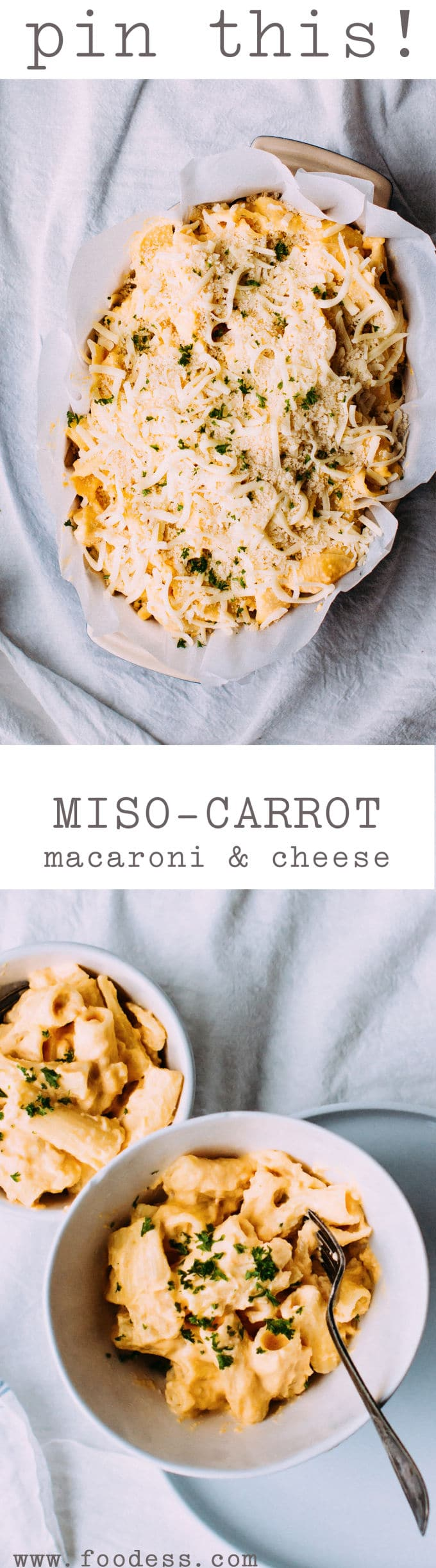 Miso-Carrot Mac & Cheese Recipe - Foodess.com