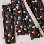 Easy Easter Egg Brownies
