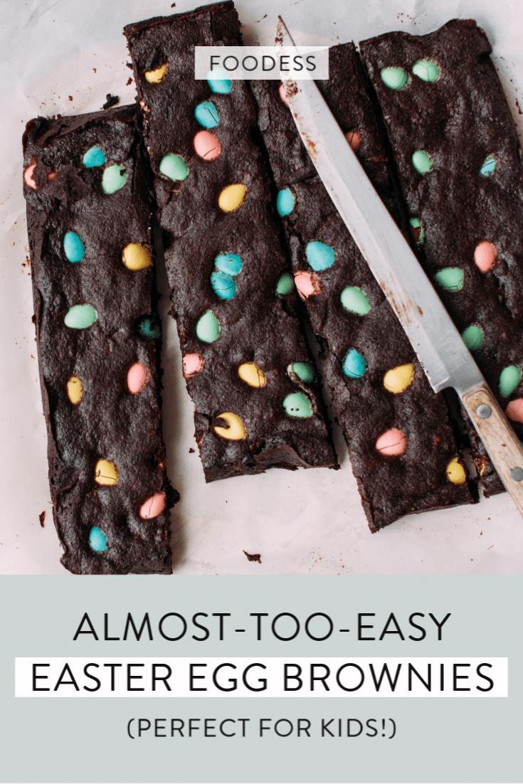 Easter brownies recipe