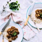 Ground Lamb & Potato Curry