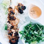 Grilled Butter Chicken Skewers