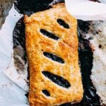 Giant Blueberry Pop Tart (or mini blueberry pie)