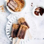 4-ingredient, Healthier Fudgesicles