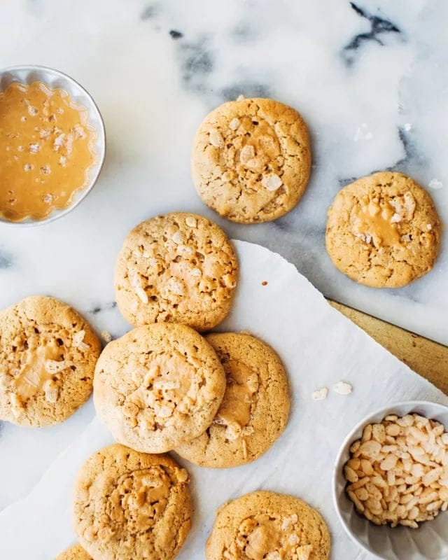 How To Make Peanut Butter Cookies Easy Peanut Butter Cookie Recipe