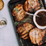 Bulgogi BBQ Pork Chops & Cold Sesame Noodle Salad