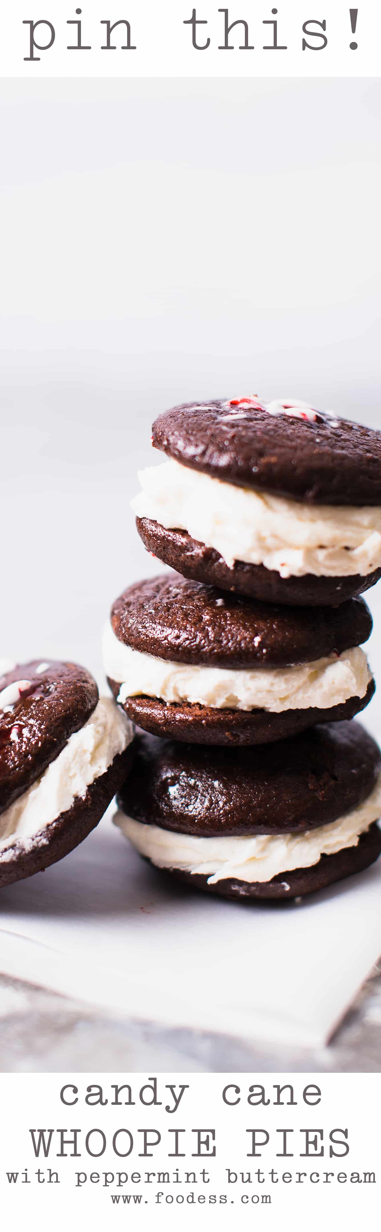 Christmas Peppermint Whoopie Pie Recipe