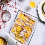 Orange Vanilla-Cream Baked French Toast