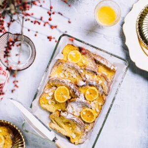 Orange Baked French Toast