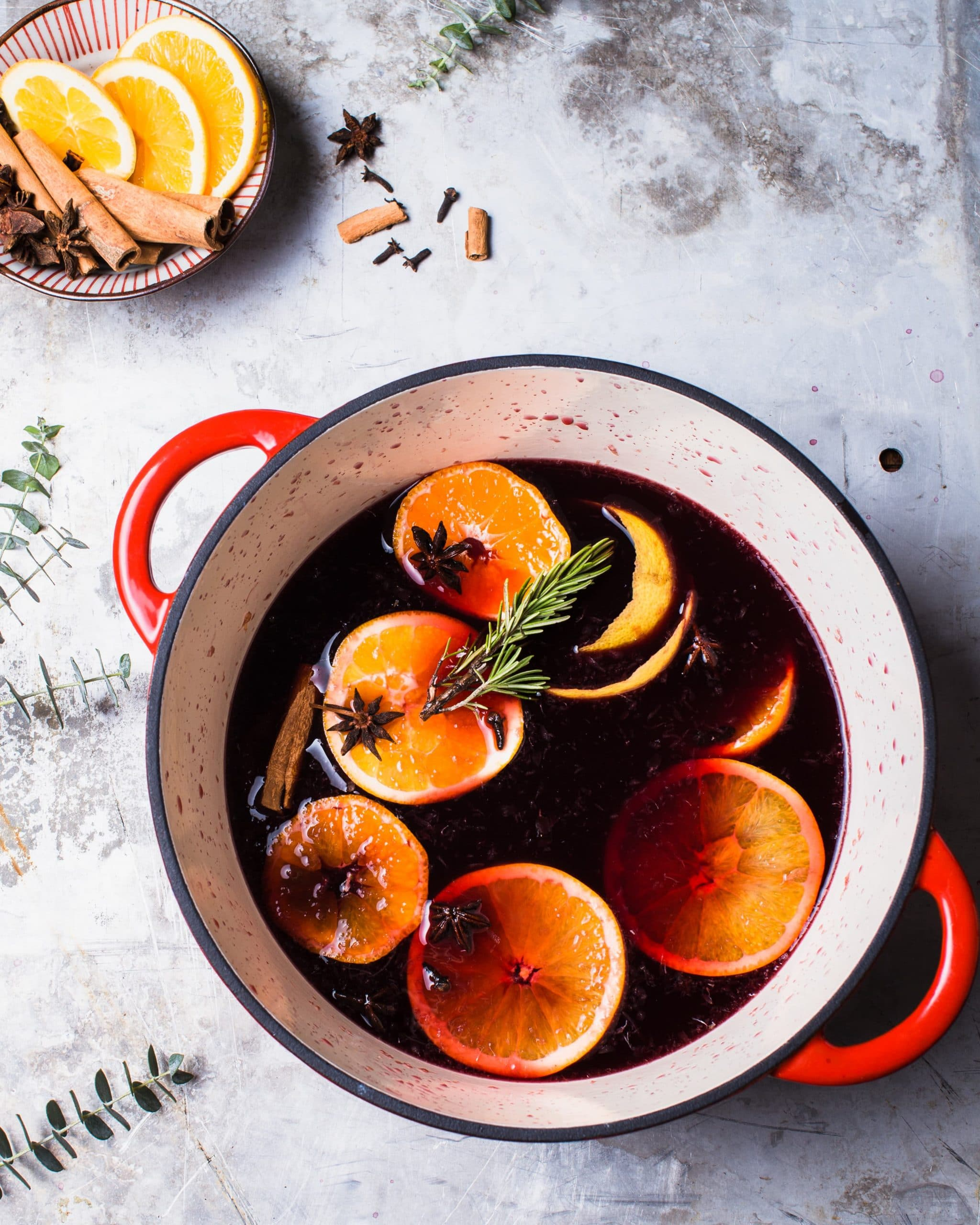 Spiced Citrus Mulled Wine Recipe