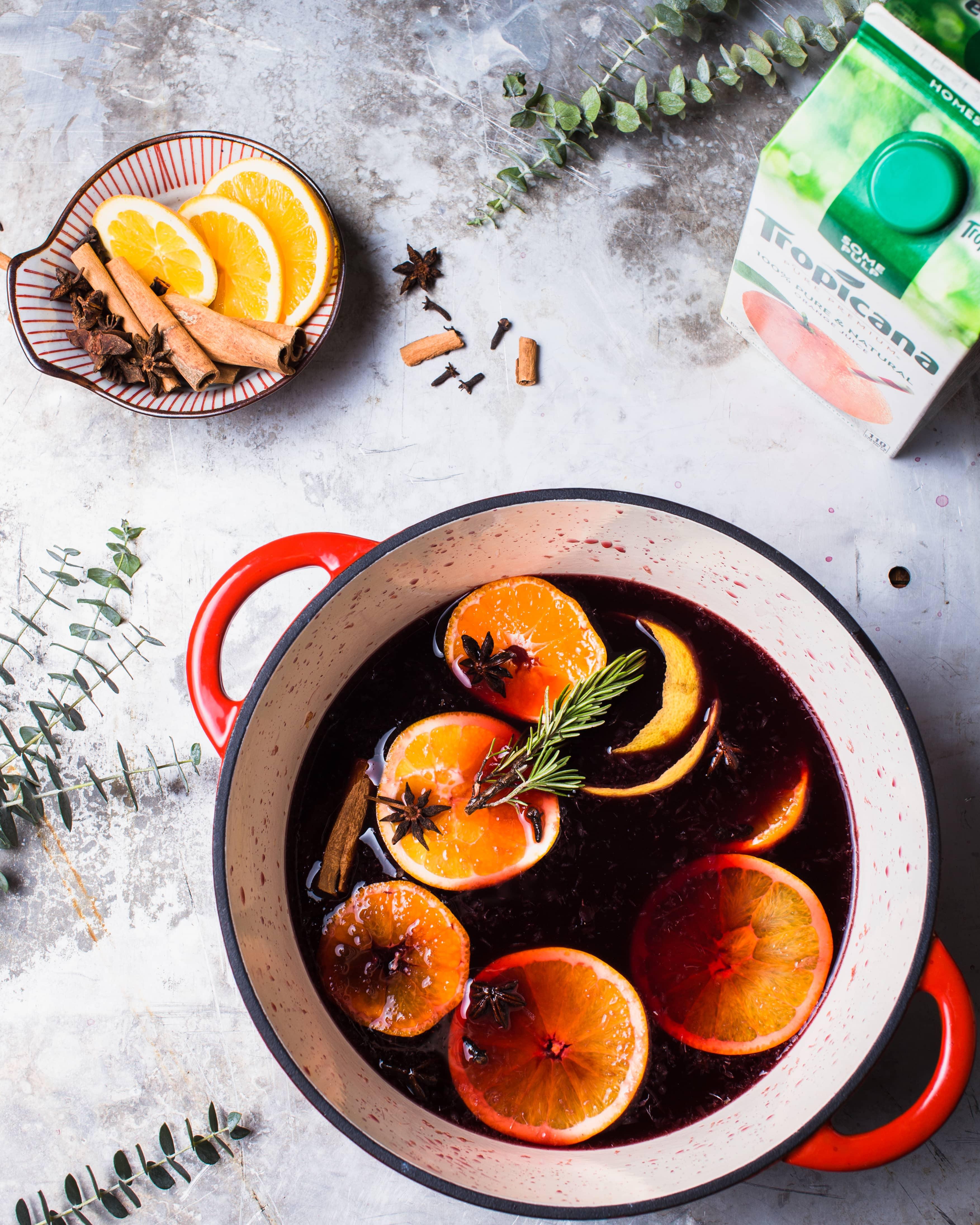 Citrus Mulled Wine Recipe - Foodess com