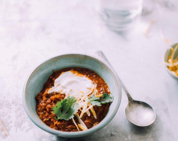 Chicken Chili in the Pressure Cooker Recipe