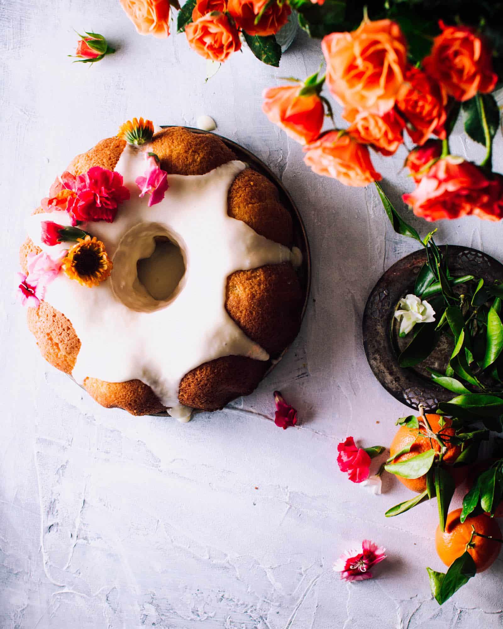 Orange Pound Cake Recipe