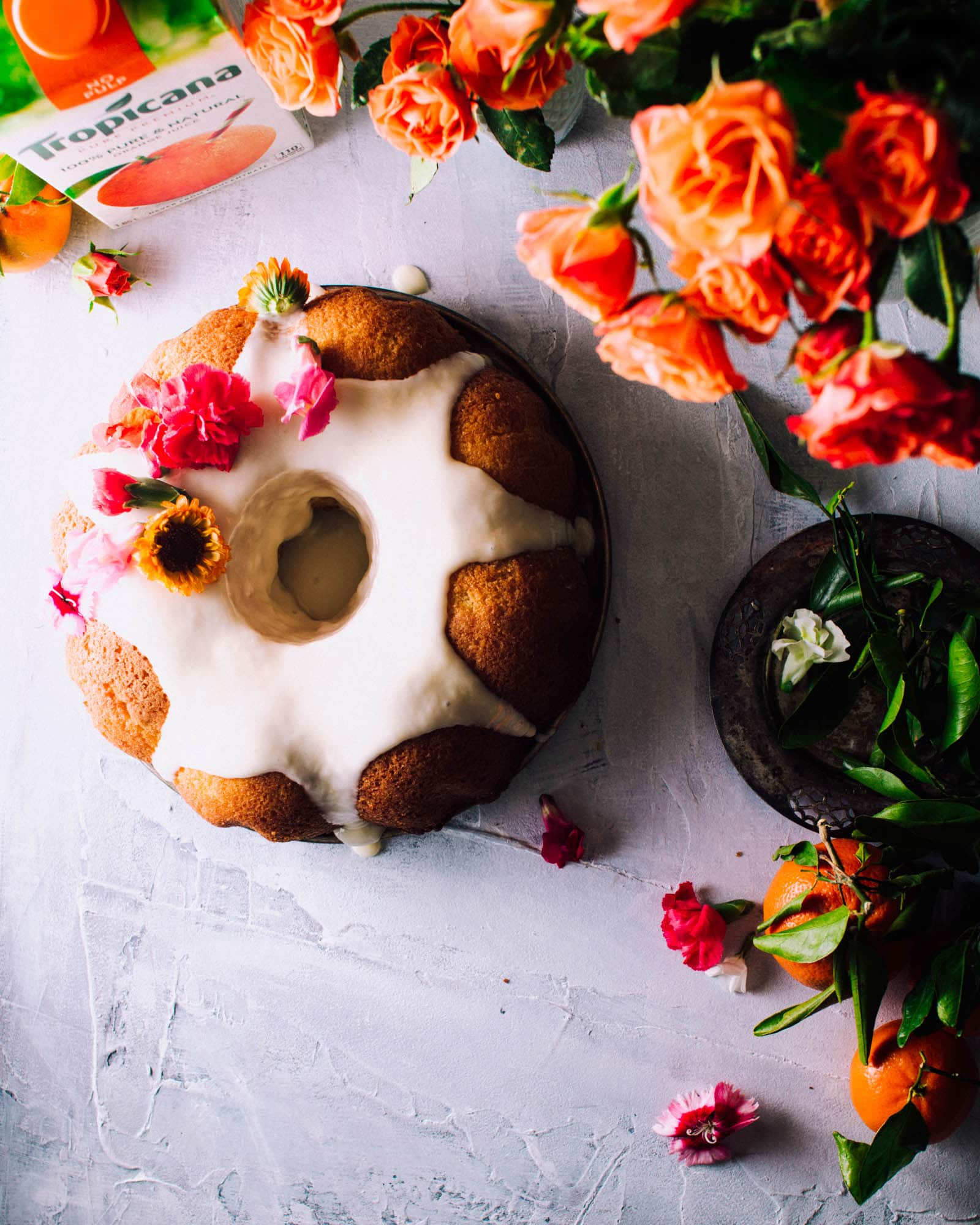 Orange Bundt Cake Recipe