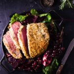Roast Beef with Garlic and Herb Breadcrumb Crust