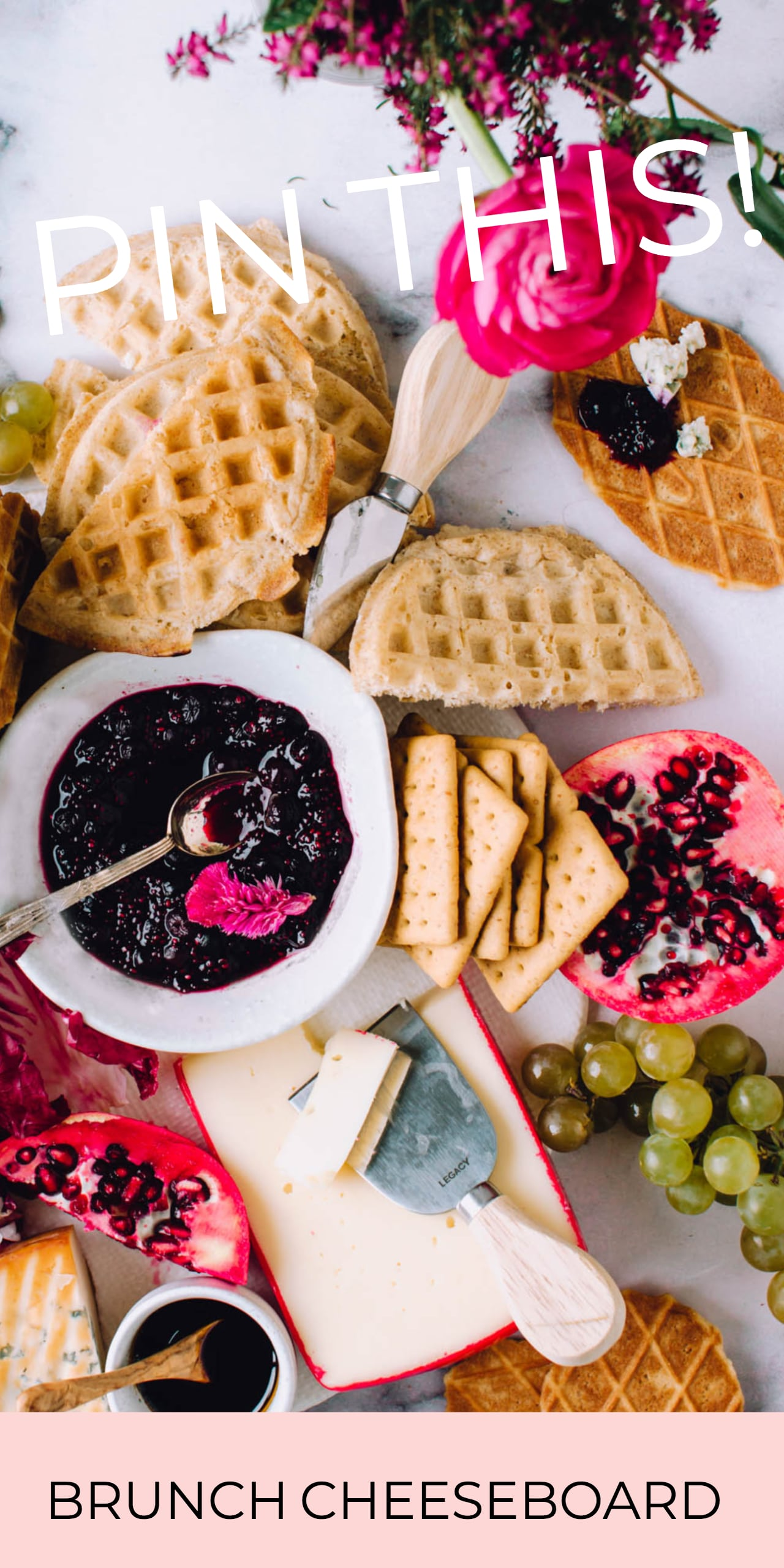 An Epic Brunch Cheeseboard | Foodess