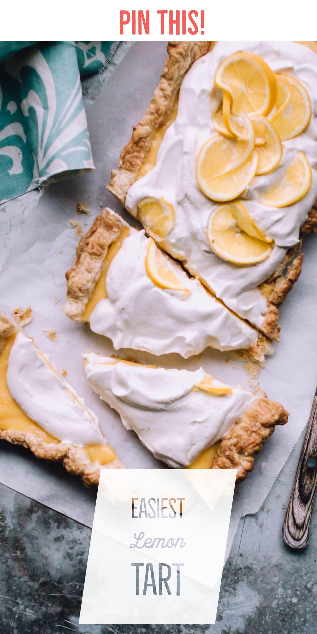 Easiest Lemon Tart Recipe | Foodess